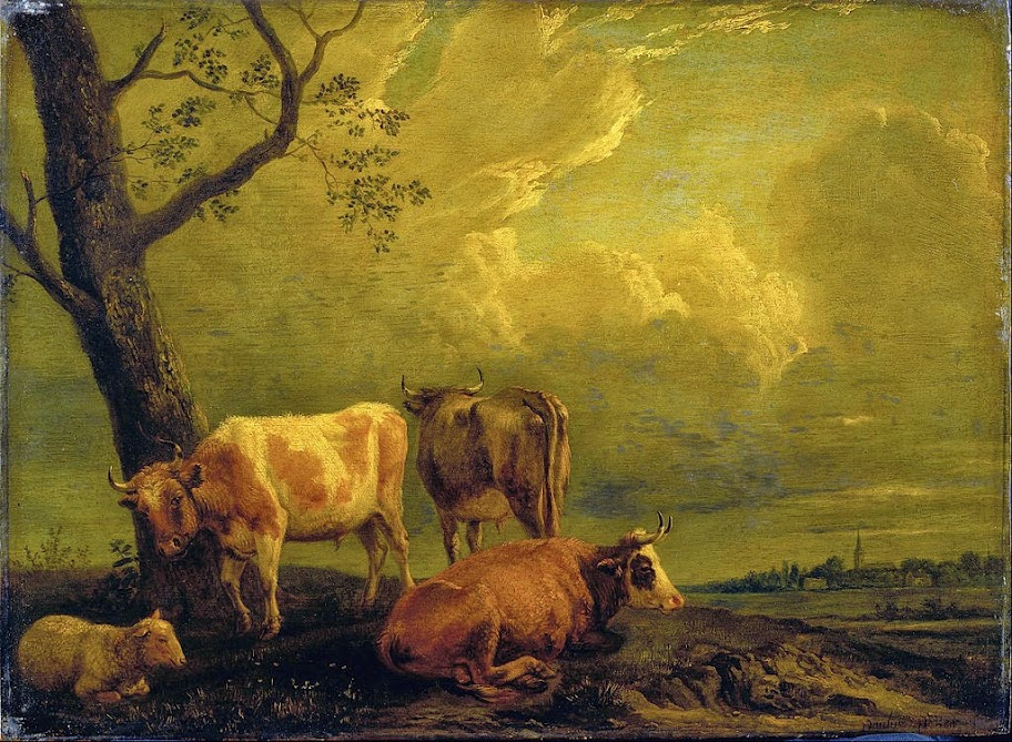 Paulus Potter - Cattle and Sheep - Google Art Project.