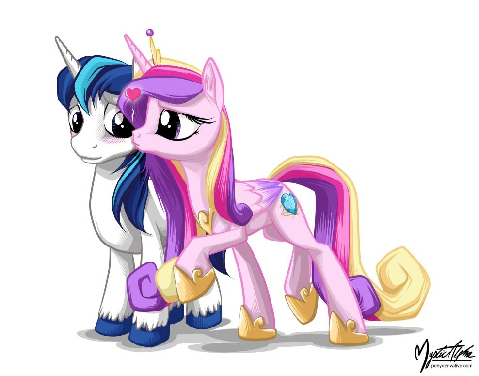 Shining Armor And Princess Cadance 2