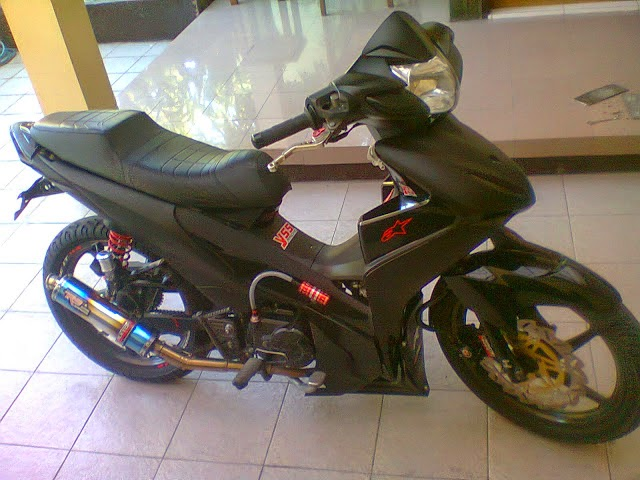 Modifikasi Warna Revo 110