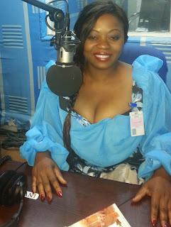 La chanteuse congolaise Thérèse Kishila dit Faya Tess. Radio Okapi/Ph. Kaki Akiewa.