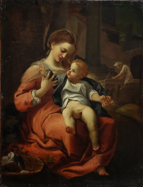 Adriaen van der Werff - Madonna of the Basket