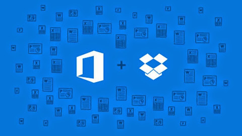 Dropbox sync to Microsoft Office Word Excel and Powerpoint