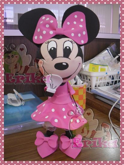 Moldes fofucha Minnie Mouse - Imagui