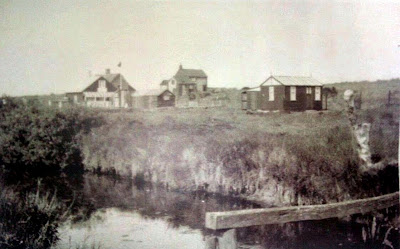 The hamlet of Minsmere taken before WWII