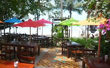 ร้านอาหาร ของ ที่พักเกาะช้าง ที่ โรงแรมบ้านปู หาดทรายขาว