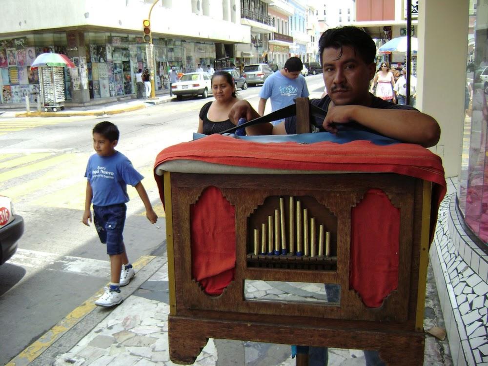 Organillero en Veracruz (?)