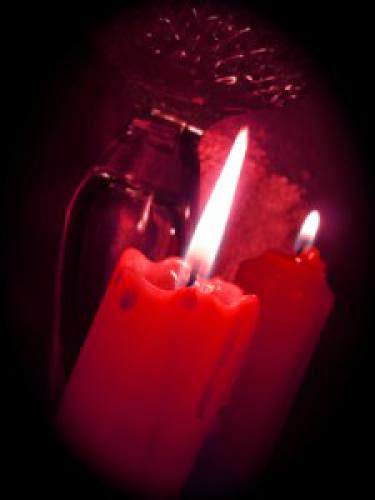 Candles For The Spell For Love