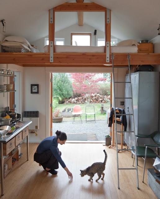 уютна къща от гараж