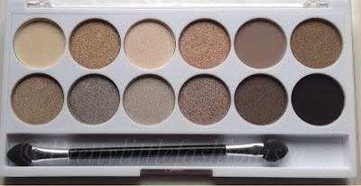 MUA Undress Me Too Palette  Close up of the shades