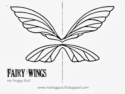 My Froggy Stuff: How to Make Doll Fairy Wings