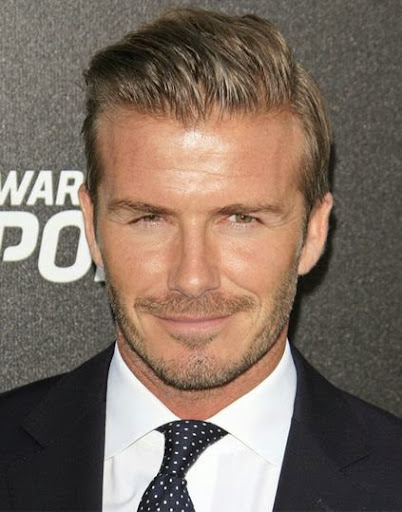 Pleasant 20 Beautiful Pictures Of David Beckham Hairstyles Celebrity Hairstyles For Women Draintrainus