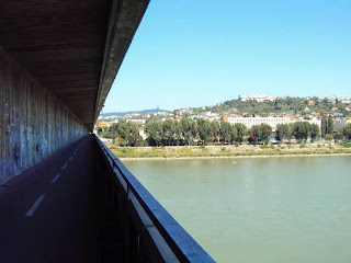 Donauüberquerung in Bratislava