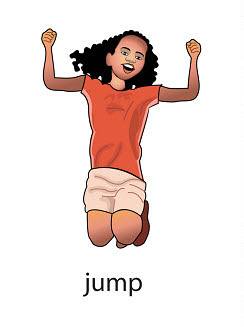 jump%2520 %2520flashcard Verb flashcard