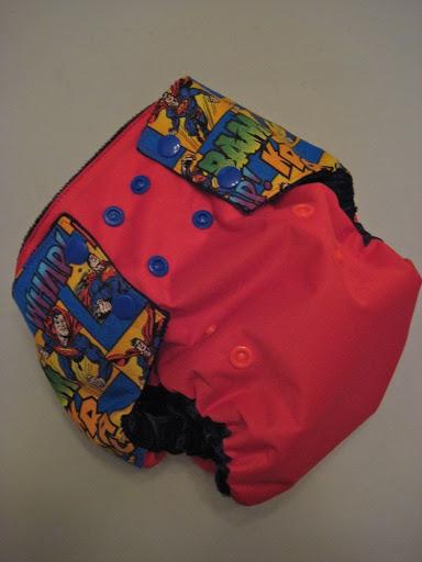 Superman Bumwrap OS diaper