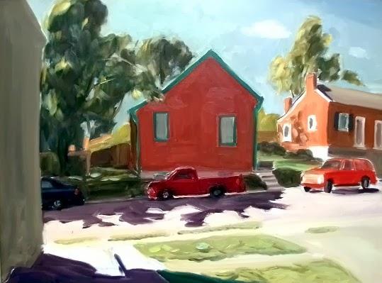 "Best of Show: ""Landscape"" by Konstantin Kublanov. Oil. $300.00."