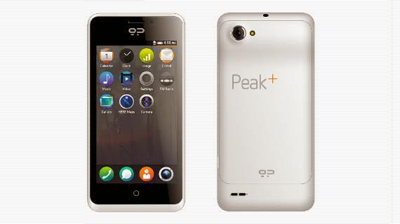 Peak+, el móvil con Firefox OS de 149 euros
