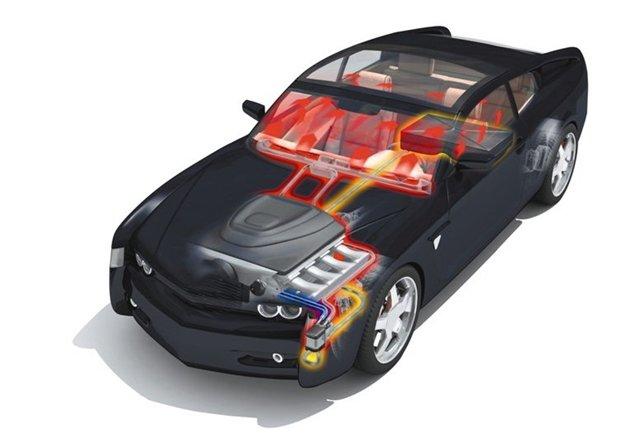 Автомобильный предпусковой подогреватель.