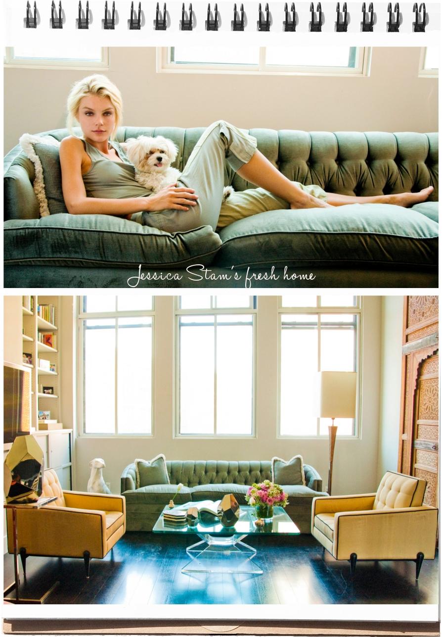 Interiors Jessica Stam S Apartment Fuji Files