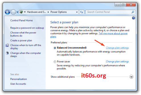 Bạn có biết kích hoạt chức năng Hibernate trong Windows 7 3