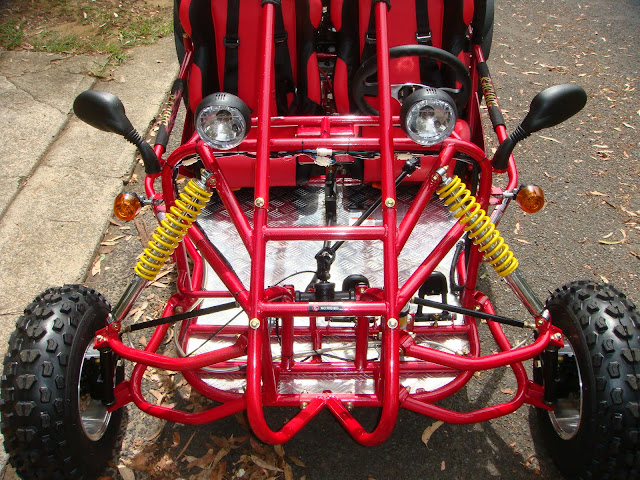 250cc GK Kandi Rocketa Shaft Drive Independent front suspension IRS Offroad Dune Buggy Go Cart