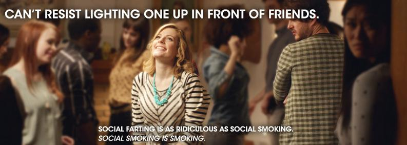 Farting Is To Social What Social Is To Smoking — Fun New Anti Smoking PSA