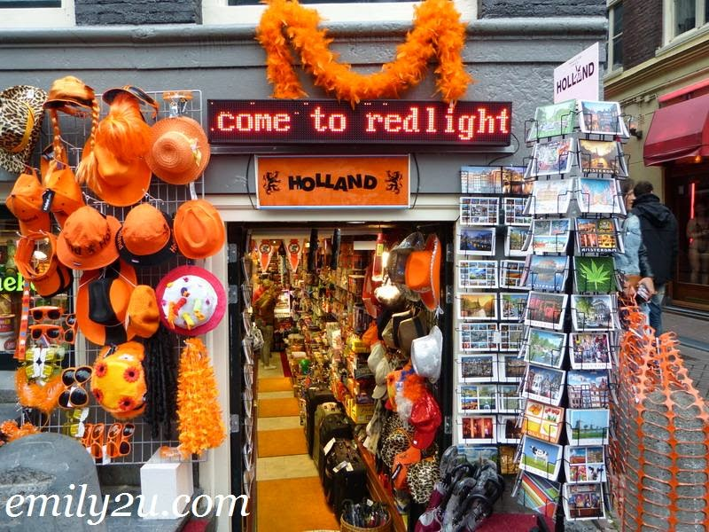 Red Light District Amsterdam Holland