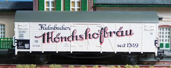 Märklin 29539: Bierwagen Kulmbacher