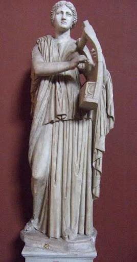 Goddess Erato Image