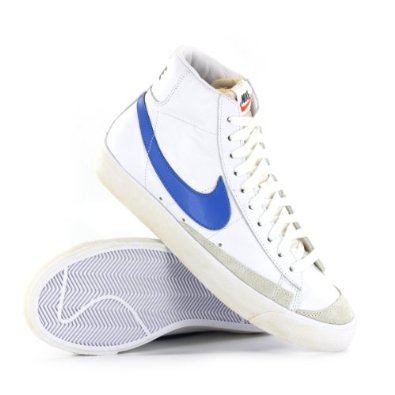 low priced e022d eb624 ... official store nike blazer mid 77 prm vintage white mens trainers dc63a  19652