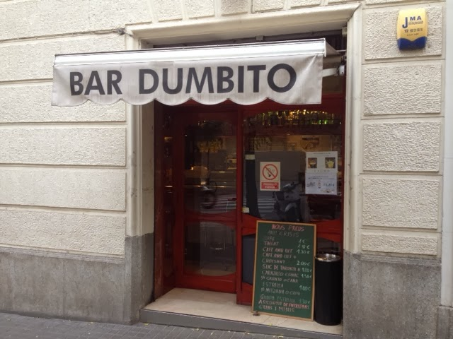 bar dumbito barcelona