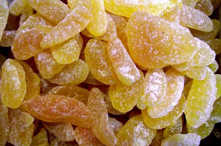 Gominolas con azúcar
