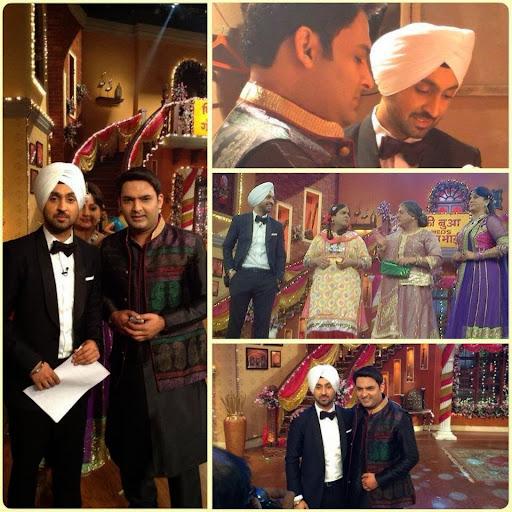 Diljit Dosanjh Marriage Pics Diljit-dosanjh-comedy-nights-