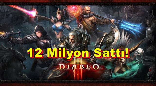 2012 Yılının En Çok Satan PC Oyunu Diablo 3 Oldu!