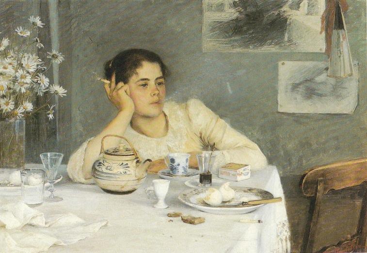 Elin Danielson-Gambogi - After Breakfast, 1900