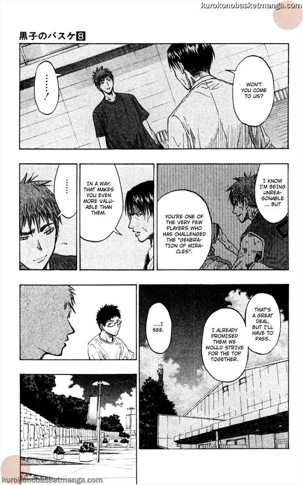Kuroko no Basket Manga Chapter 63 - Image 3