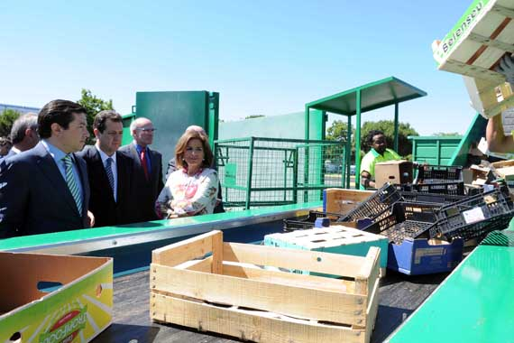 Inaugurada la Eco-Área de reciclaje en Mercamadrid