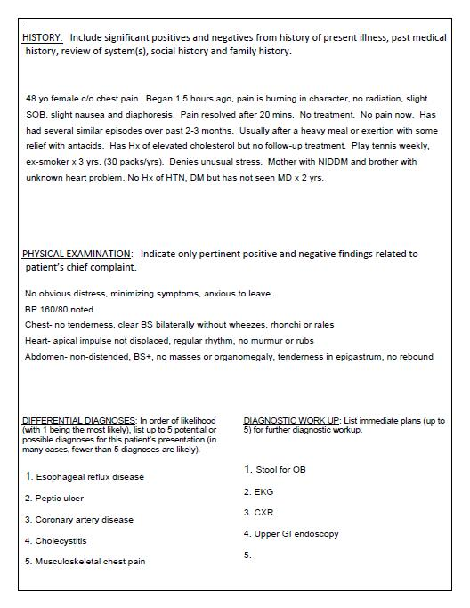 Usa Residency Criteria: Typing A Patient Note : New Compulsory