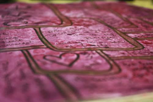 Pagan Art Journal A Colourful Purple World