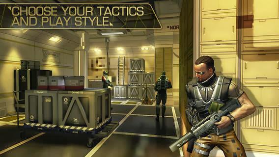 Deus Ex: The Fall v1.0.5 for iPhone/iPad