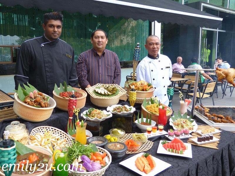 Symphony Suites Ramadhan menu