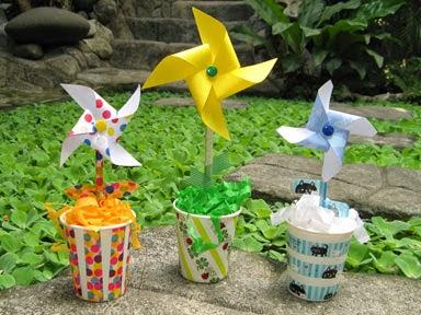 pinwheel flowers photo
