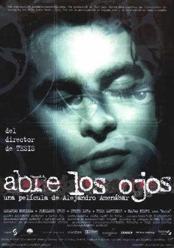 """Cartel de """"Abre los ojos"""", de Alejandro Amenábar"""