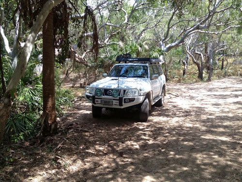 Parking at Flat Rock - Deepwater NP