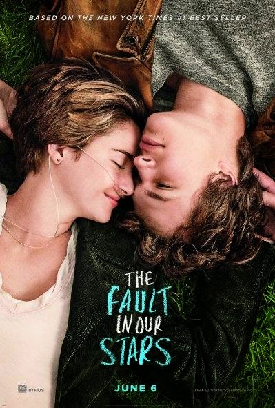 Poster Of English Movie The Fault in Our Stars (2014) Free Download Full New Hollywood Movie Watch Online At alldownloads4u.com