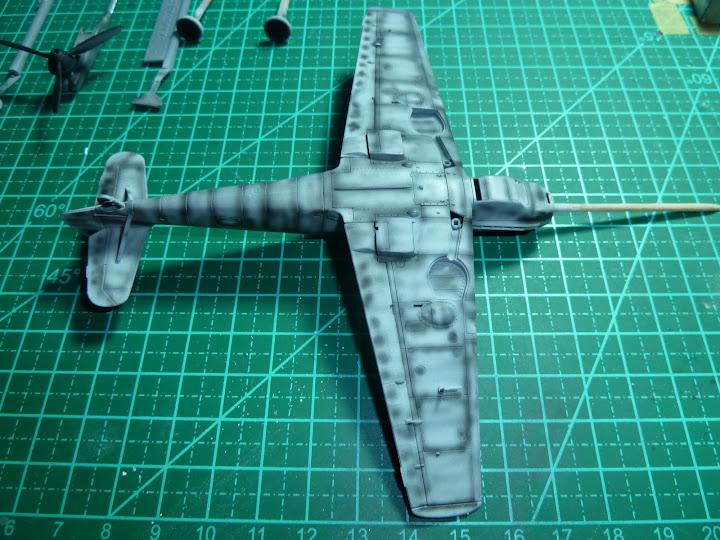 "Messerschmmit Bf 109 E-3 - Major Hans ""Assi"" Hahn P1030978"