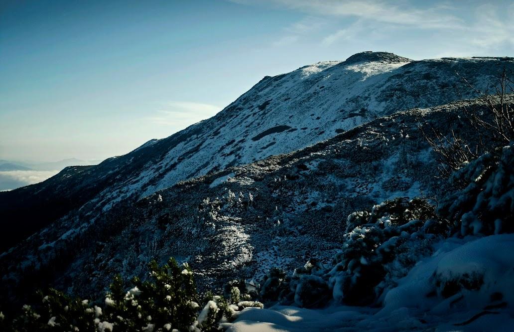 Szlak z Babiej Góry na Przełęcz Brona
