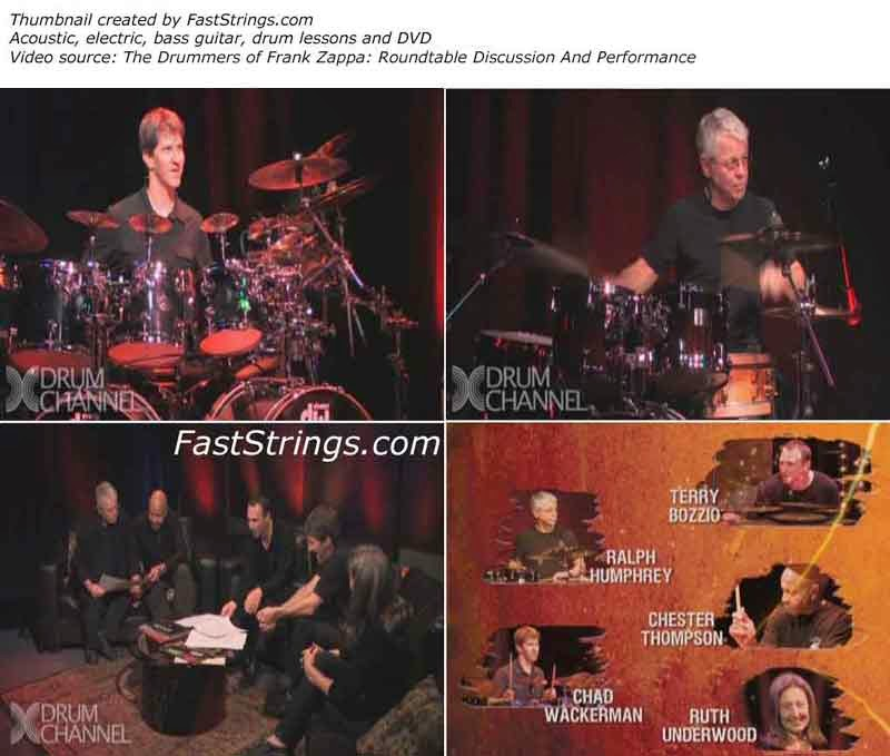 The Drummers of Frank Zappa: Roundtable Discussion And Performance
