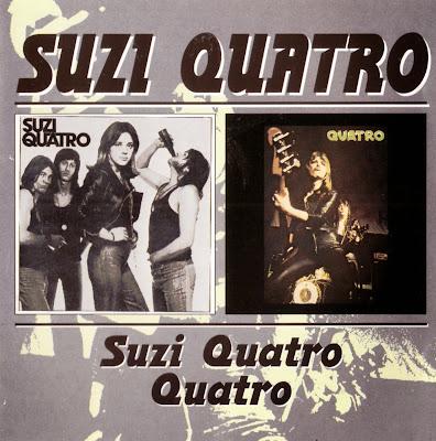 Suzi Quatro ~ 1973 ~ Suzi Quatro + 1974 ~ Quatro