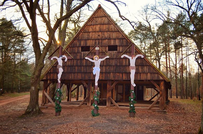 Lasy Rudzkie - Kaplica Świętej Marii Magdaleny