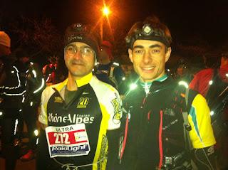 Trail de Vulcain 2012 - Rémi et Nono au départ